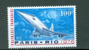 FRENCH POLYNESIA CONCORDE #C127...MNH...$10.00