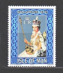 Isle Of Man. 1978. 128. Queen Elizabeth. MNH.