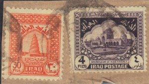 IRAQ SC# 82+93 **USED**  1841-42    SEE SCAN