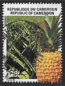 Cameroon - # 930 - Pineapple - used....{BRN9}