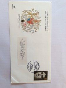 1969 Investiture 1/- FDC  Caernarvon Castle post mark to Bristol
