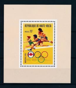 [55718] Burkina Faso 1976 Olympic games Montreal Athletics MNH Sheet