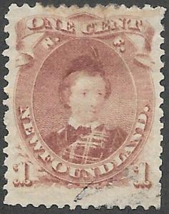 Newfoundland Scott Number 32A VF Used