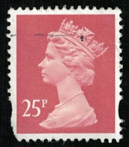 Queen Great Britain 25p (T-4857)