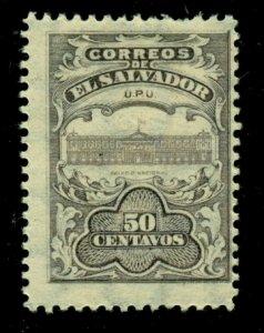El Salvador 1911 #401 MH SCV (2020) = $0.25