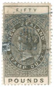 (I.B) New Zealand Revenue : Stamp Duty £50 (thin appropriation)