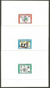 1985 Mali IYY Pioneers soccer boxing farming dlx SS