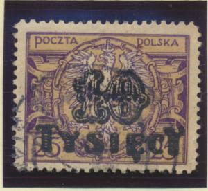 Poland Stamp Scott #195, Used - Free U.S. Shipping, Free Worldwide Shipping O...
