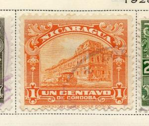 Nicaragua 1928 Early Issue Fine Used 1c. 323662
