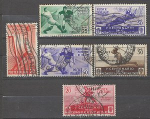 COLLECTION LOT # 4978 ITALY6 STAMPS 1934 CV+$21