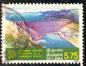 Sri Lanka: 1988; Sc. # 892; O/Used Single Stamp