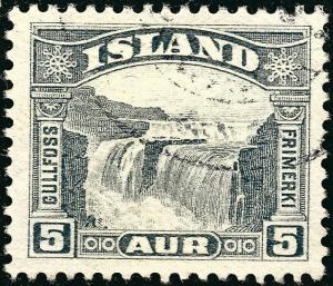 Iceland 1931 #170 VF Used SCV$1.10...fill a bargain spot!!