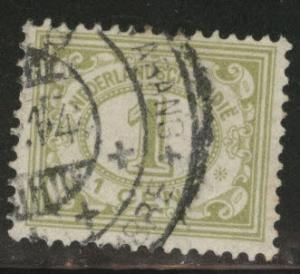 Netherlands Indies  Scott 102 used  from 1912-20 set