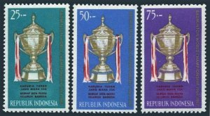 Indonesia 645-647,MNH.Mi 454-456. Thomas Cup Badminton World Championship,1964.