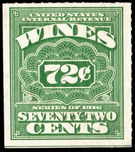 United States Scott RE75 Unused no gum as issued with light crease and small ...