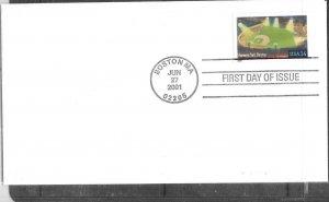 US #3516  34c Fenway Park  (FDC) CV $1.50