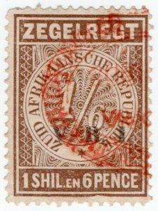 (I.B) Transvaal Revenue : Duty Stamp 1/6d (VRI)