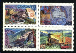 Can #1202a   block   used VF 1988 PD