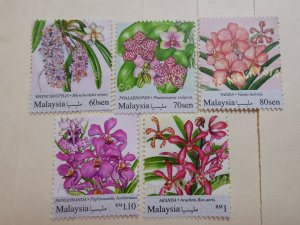 MALAYSIA 2017  FLOWER FLORA STAMP IN COMPLETE SET IN FINE MINT CONDITION