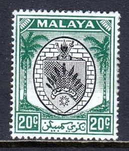 Malaya (Negri Sembilan) - Scott #49 - MH - SCV $2.25