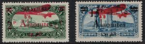 Alaouites 1929-1930 SC C20-C21 Set LH CV $62.25