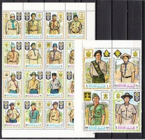 Manama MNH 465-84 Scouts Of The World 1971 AWESOME!!!!