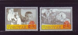 Faroe Islands Sc 497-8 2008 Hoydalar TB Sanitorium stamp set mint NH