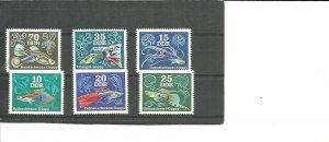 Germany DDR MNH 1769-74 Fish Guppies