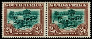 SOUTH AFRICA SG37, 1927-30 2s 6d Green & Brown, LH MINT. Cat £150.