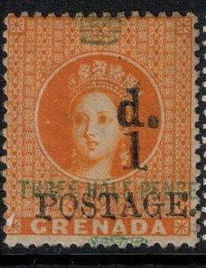 Grenada 1886 SC 27 Mint SCV $60.00