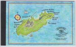 Alderney - 1998 Garrison Island Prestige Booklet