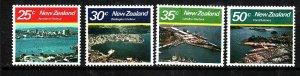 New Zealand-Sc#711-14-unused NH set-Harbours-id3-1980-