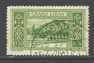 Lebanon Sc # 52 used (RS)