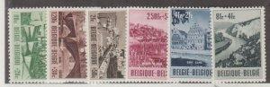 Belgium Scott #B538-B543 Stamps - Mint Set