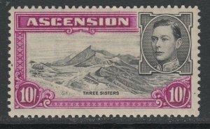 Ascension, Scott 49a (SG 47), MHR (slightly brownish)