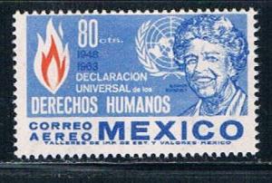 Mexico C280 MNH Eleanor Roosevelt (M0179)+