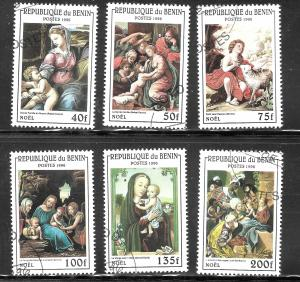 Benin 1996 SC# 836-841
