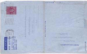 AZ217 1951 GB *CARDIFF WALES* New York USA Cover {samwells-covers}PTS