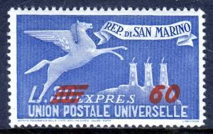 San Marino - Scott #E20 - MH - SCV $4.25