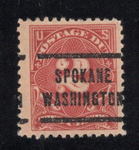 US# J62 - Perf. 11 (Unwatermarked) Postage Due - Used
