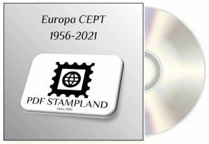 Europa CEPT 1956-2021 (3 albums) PDF STAMP ALBUM PAGES