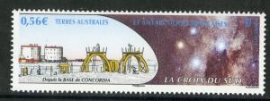 FR S ATLANTIC TERR 436 MNH SCV $1.50 BIN $0.90 SPACE