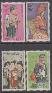 Laos 100,C43-C45 MNH VF