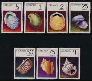 Grenada 652-8 MNH Shells