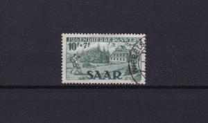 saar 1949 youth hostels fund  used  stamp cat £160+  ref r15171