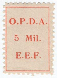 (I.B) Palestine Revenue : Ottoman Public Debt 5m (OPDA)