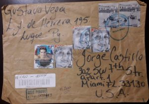 U) 2013, PARAGUAY TO MEXICO, MULTIPLE STAMPS, PANAMERICAN GAMES OF 2011, BLOCK O
