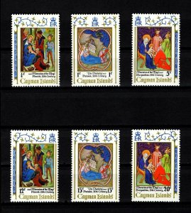 CAYMAN IS - 1971 - CHRISTMAS - NATIVITY - THREE KINGS + MINT - MNH SET!