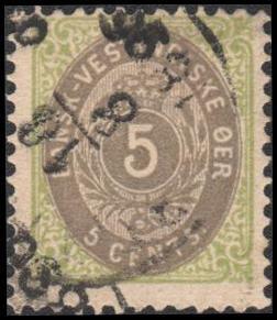 Danish West Indies 19 used