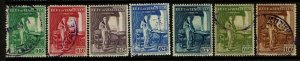Venezuela SC# 350-356, Used, minor toning, see notes - S10971